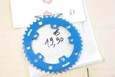 NEUF: Pour Velo BMX > Couronne Alu. Bleu SINZ 110mm 5 points 43 dents 3/32 & 1/8