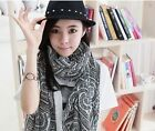 Fashion Stylish Womens Ladies Chiffon Soft Winter Scarf Scarves Long Wraps Shawl