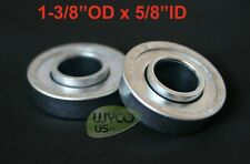 "2-PACK, FLANGED BEARINGS 1-3/8"" OD x 5/8"" ID, LAWNMOWERS, GO KARTS, MORE"