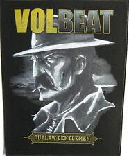 "Volbeat schiena ricamate/Back Patch # 1 ""Outlaw Gentlemen"""