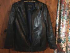 Classy Wilson's Leather Pelle Studio Women's Black Zippered Jacket. Size Sm.