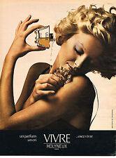 PUBLICITE   1975   MOLYNEUX  parfum VIVRE