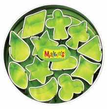 Makins Mini Geometric Circle Tin Clay Cutters 12 Piece NEW