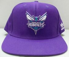 Charlotte Hornets NBA adidas Snapback Adjustable Purple Hat / Cap - Free Ship