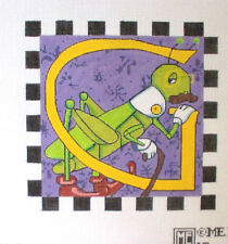 MARY ENGELBREIT Alphabet Letter *G* HP Needlepoint Canv
