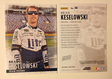 2016 Panini Black Friday Promotion BRAD KESELOWSKI #30 Nascar Racing