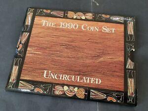1990 Royal Australian Mint Uncirculated Decimal 8 Coins Set