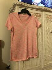 Reebok Pink Exercise Shirt Small