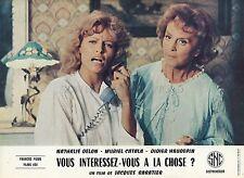 NATHALIE DELON VOUS INTERESSEZ-VOUS A LA CHOSE ? 1974 VINTAGE LOBBY CARD #4
