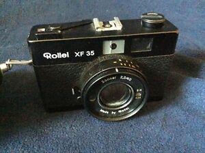 Rollei XF35 XF 35 Rangefinder Film Camera 40mm f2.3 Sonnar Lens