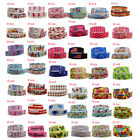 2-5-10yads 7/8''(22mm) Grosgrain Ribbon lot printed DIY Sewing Hair Bows Crafts