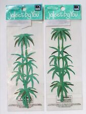 2 NIP BAMBOO JOLEE'S BY YOU DIMENSIONAL EMBELLISHMENTS TROPICAL ASIA