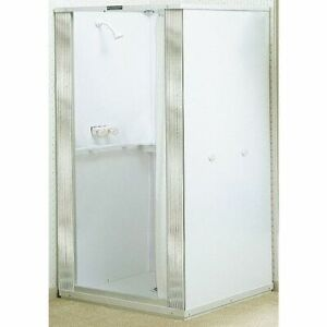"Mustee 80 Free Standing Shower Stall 74-3/4""X32"""
