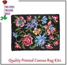Assorted flowers Latch Hook Rug Kit Large size - *NEW* everything included