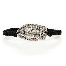 "Our lady of Guadalupe ""Motherly Love"" Bracelet by My Saint My Hero ( Black)"