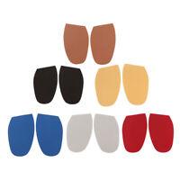 2x Stick On Soles DIY Unisex Non Slip Grip Pad Tips Replacement Shoe Repair