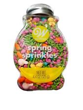 Easter Bunny Carrot Mix Sprinkles Decorations 4.4 oz Wilton