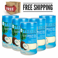 BANABAN Fiji Virgin Coconut Oil 5 x 1 Litre - FREE SHIPPING