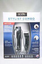 Andis 66280 Stylist Combo Envy Clipper + T-Outliner Trimmer Black Combo KIT