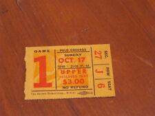 New York Giants: 10/17/48 (VG+) Polo Grounds Ticket Stub