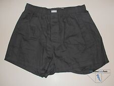 Calvin Klein Mens Woven Boxers Gray Cotton Small S New NWOT