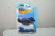 VOITURE HOT WHEELS BATMAN HW CITY 2014 BATMOBILE CAR NEUF 62/250