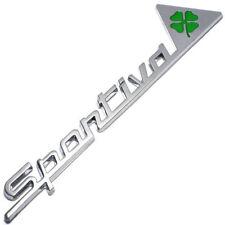 LOGO Fregio badge Sportiva quadrifoglio verde MiTo Giulietta Alfa Romeo