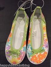 Gymboree size 11 Shoes dress girls spring flowers shoe garden party