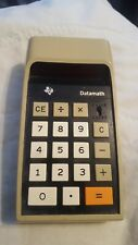 Vintage Texas Instruments TI-2500 DATAMATH Calculator TESTED, WORKING, VGC {003