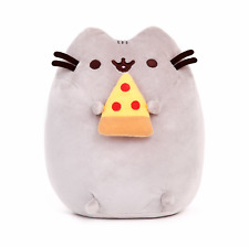 Pusheen The Cat with Pizza Gund Cute Soft Plush Animal Toy 24cm **FREE DELIVERY*