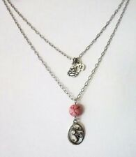Agate Stainless Steel Costume Necklaces & Pendants