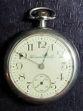 17 Jewel Open Face Pocket Watch New listing Beautiful 1912 Hampden 18 Size,