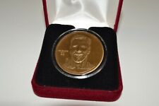 Highland Mint Drew Bledsoe Bronze Coin with Case 6827/25000!