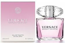 VERSACE BRIGHT CRYSTAL * Versace 6.7 oz / 200 ml EDT Women Perfume Spray