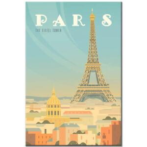France fridge magnet Paris Vintage Poster Eiffel tower travel souvenir