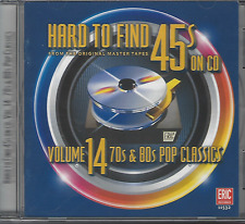 Vol. 14-Hard To Find 45's On Cd (70s & 80s Pop Cla - Hard To (CD Used Like New)