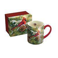 Lang Companies,  December Dawn Cardinal 14 oz. Mug