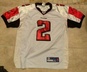 Reebok Matt Ryan #2 Atlanta Falcons White w/ Orange Sewn Football Jersey 48 L