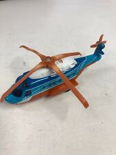 Matchbox Skybusters Mission Chopper Die Cast Model Plane N3