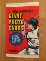 1981 Topps Baseball Tommy John Giant Photo Card Pack New York Yankees Pitcher