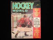 May 1973 Hockey World Magazine - Keith Magnuson Cover