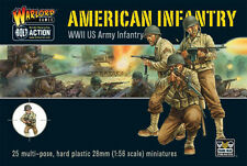 Warlord Bolt Action WWII Plastic US American Infantry Boxed Set Free UK P&P