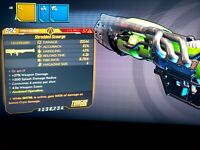 M10 Level 57 Scourge Zane SNTNL 100 CRYO xbox bl3 Mayhem 10