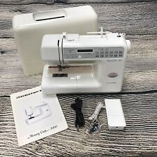 Janome Memory Craft 3000 Sewing Machine (Professionally Serviced)