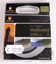 UV-Schutzfilter 49mm Pro1 MC Slim von Difox