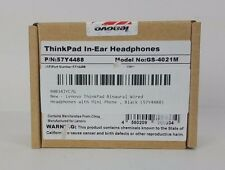 Lenovo ThinkPad Binaural Wired Headphones with Mini-Phone , Black (57Y4488)