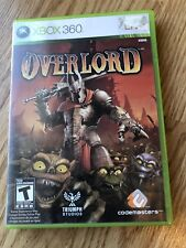 Overlord (Microsoft Xbox 360, 2007) Cib Game H3