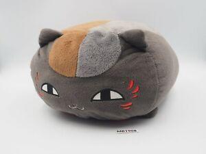 """Natsume Yuujinchou MB1908 Madara Nyanko-sensei Cat Cushion Banpresto 12"""" Plush"""