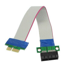 PCI-Express PCI-E 1X Riser Card Flex Extender Extension Cable for PC CT U5L X1S3