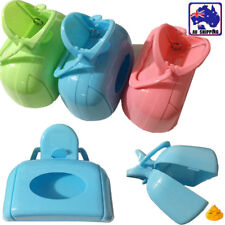 3pcs Poop Easy Scooper Portable Pet Dog Waste Clearup Plastic PSCS50901x3